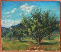 untitled - orchard by felicia (mrs. reg. marsh) meyer