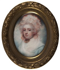 frances katherine, countess of dartmouth by philip jean