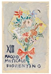 bozzetto originale per copertina (sketch) by gianni vagnetti