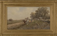 plowing the field by frank f. english