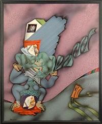 composition aux deux personnages by edouard zelenine