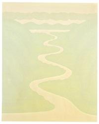 ohne titel (flusslauf i) by bernd koberling