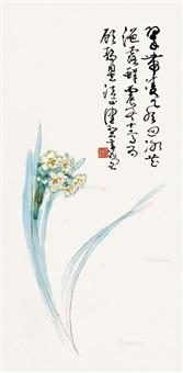 翠带凌风 立轴 设色纸本 by chen peiqiu