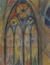 gothisches kirchenfenster by fritz arlt