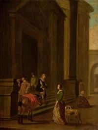 llegada a palacio by hendrick verschuring