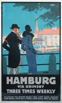 hamburg via grimsby by frank newbold