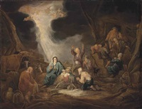 the adoration of the shepherds by benjamin gerritsz cuyp