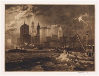 passing storm by martin lewis