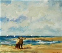 couple by the seashore by frederick mcduff