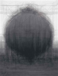 every...bernd and hilla becher spherical type gasholders by idris khan
