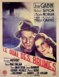 le quai des brumes (poster) by f. lafosse