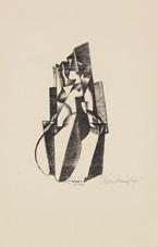 figur in bewegung by enrico prampolini