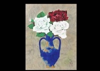 flower vase by tadashi moriya