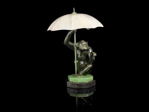 Pluie monkey table lamp by max le verrier on artnet pluie monkey table lamp by max le verrier mozeypictures