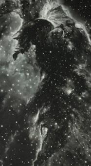untitled (horse head nebula) by robert longo