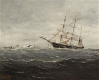 whaling ship by robert j. lie