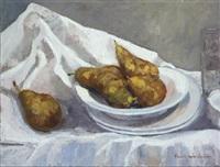 bodegón de peras by maria angeles buenos campos