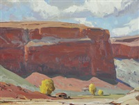 canyon de chelly by g. russell case