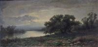 paesaggio fluviale by francesco capuano