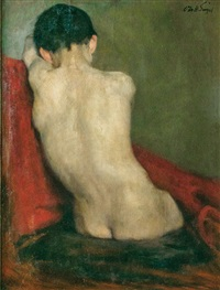 back of a boy by otto heinrich engel