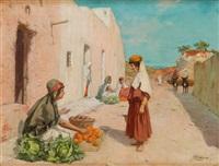 la marchande d'oranges by josé alsina