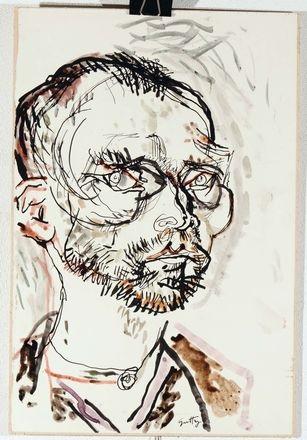 ritratto di van gogh by renato guttuso