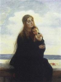 madonna con bambino by francesco valaperta