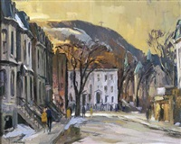 old montreal by henry john simpkins