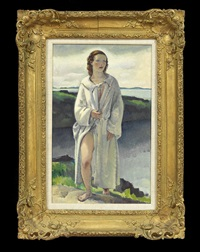the bather by leon kroll