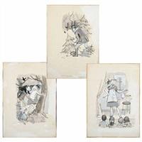 illustrations by maggi baaring