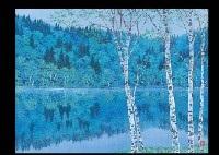 calmness reflection by shinji yamazaki