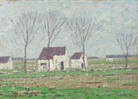 landschaft in new england by holmead (clifford holmead phillips)