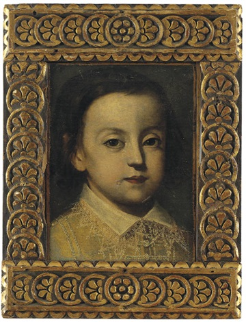 portrait of a young boy with a lace collar by sofonisba anguissola