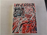 mythologie d'andré masson de jean-claude clébert (set of 2 etchings) by andré masson