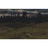 evening pines by bruno joseph bobak