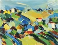paesaggio by sante monachesi