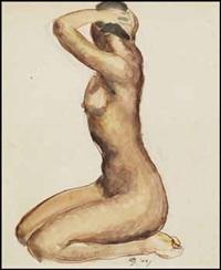 nude study by edwin headley holgate