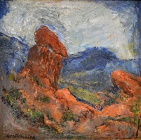 paisaje by miguel carlos victorica