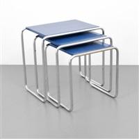 Marcel Breuer. Nesting Tables