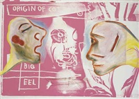 amorosi by jean-michel basquiat, francesco clemente and andy warhol
