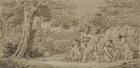 amoretten beim bogenschießen by napoleone mellini