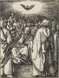 sendung des heiligen geistes by albrecht dürer