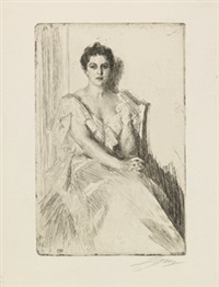 mrs. cleveland (2. fassung) by anders zorn