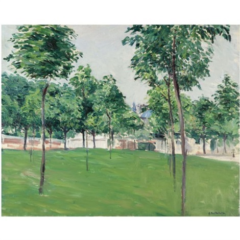 promenade dargenteuil by gustave caillebotte