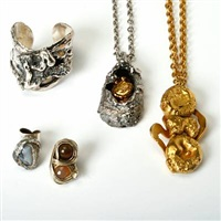 a jewellery collection (set of 5) by robert hull