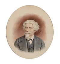 porträt von josef gunkel (1802-1878) by josef kriehuber