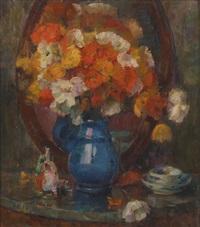 composition aux fleurs et chinoiseries by frans smits