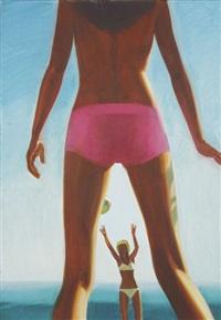 pink butt by katya sokolova
