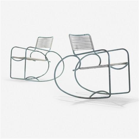 Surprising Rocking Chairs Model C 5701 Pair By Walter Lamb On Artnet Inzonedesignstudio Interior Chair Design Inzonedesignstudiocom