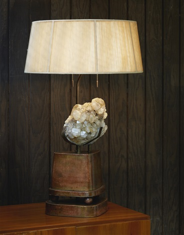 Rock crystal table lamp by carole stuppell on artnet rock crystal table lamp by carole stuppell mozeypictures Gallery